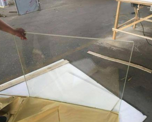 射线防护铅玻璃